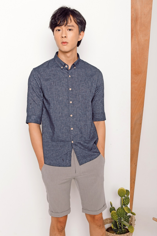 Medium Blue Grey Shirt