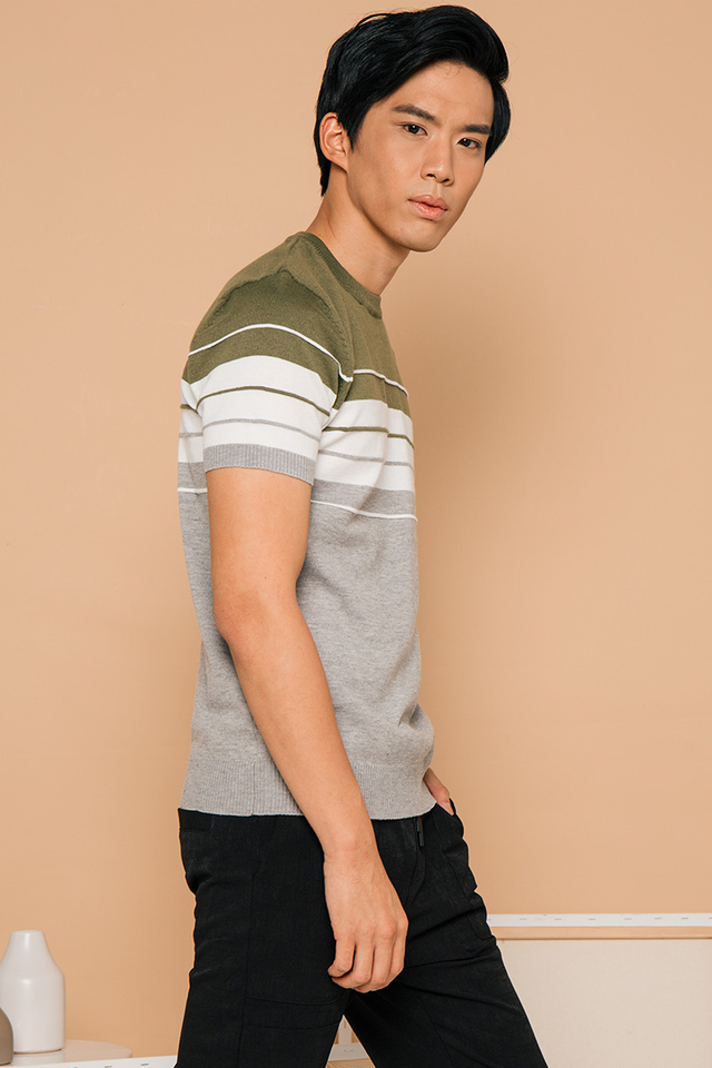 Cool Colored Knitted Tee