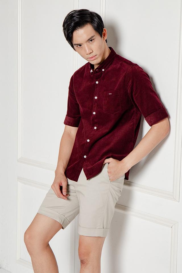 Red Corduory Shirt