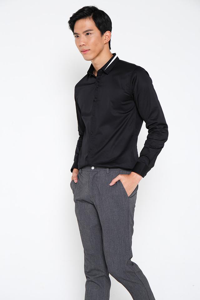 Thread Collar Full Sleeve Shirt