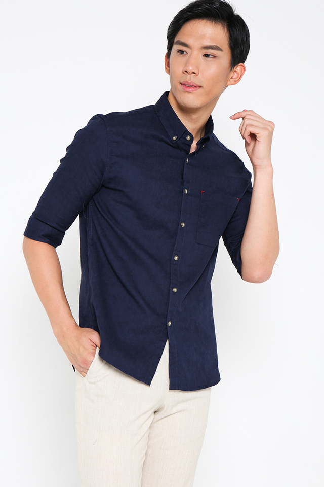 Pocket Navy Shirt