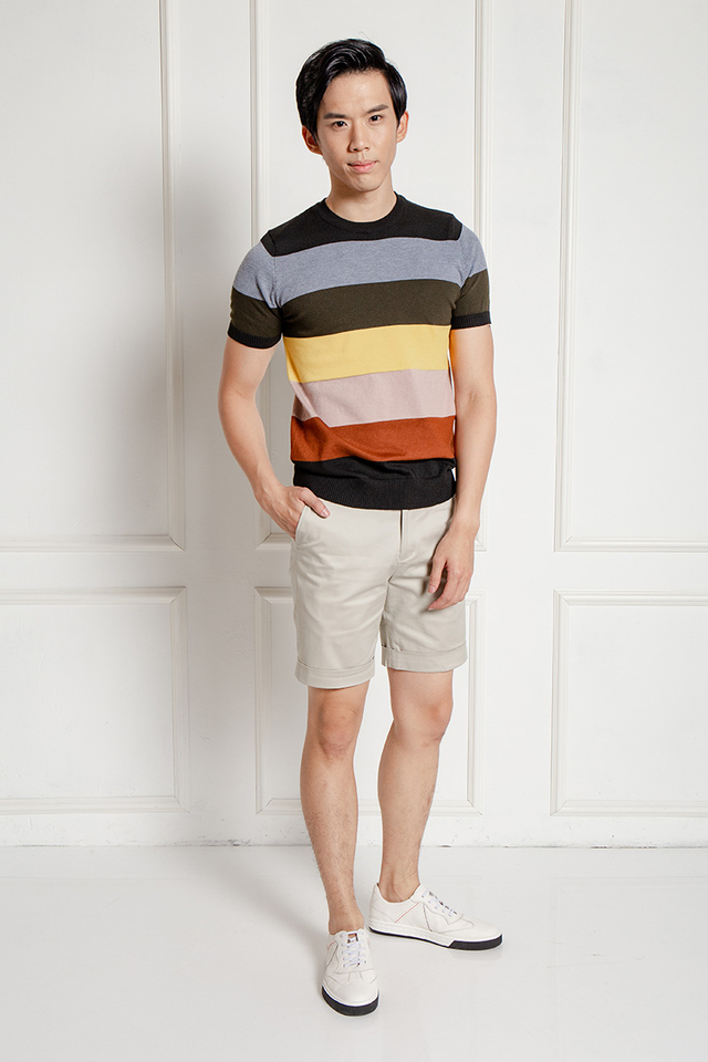 Multicolored Tier Knitwear
