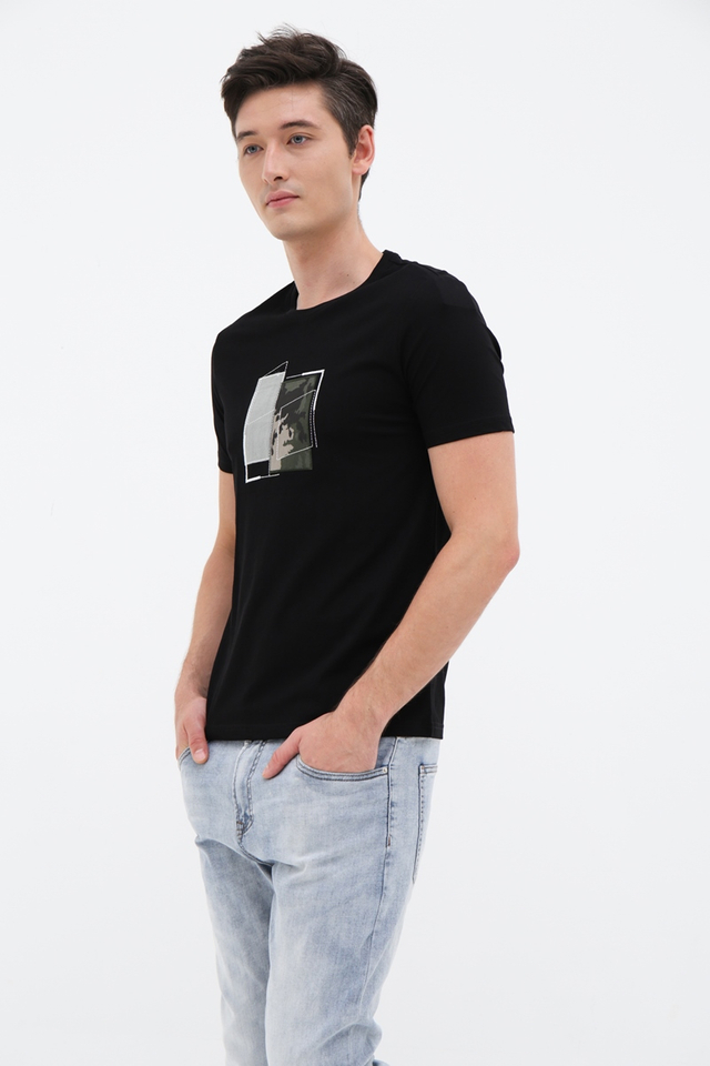 Graphic Black Tee