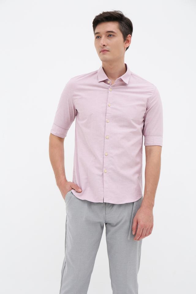 Cameo Pink Half Sleeve Shirt