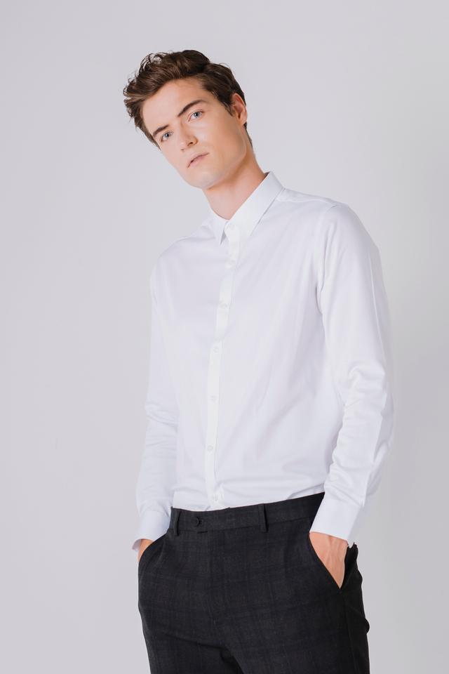 Formal White Long Sleeve Shirt