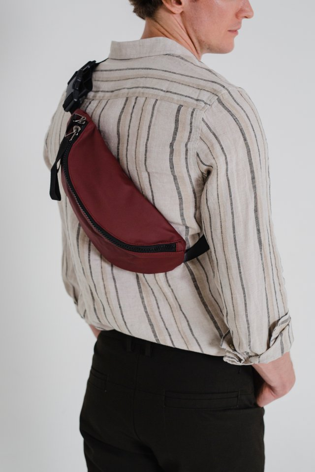 Red Waist Pouch