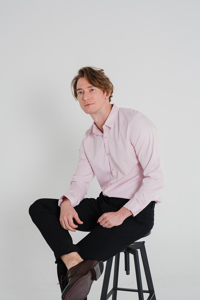 Misty Pink Long Sleeve Shirt
