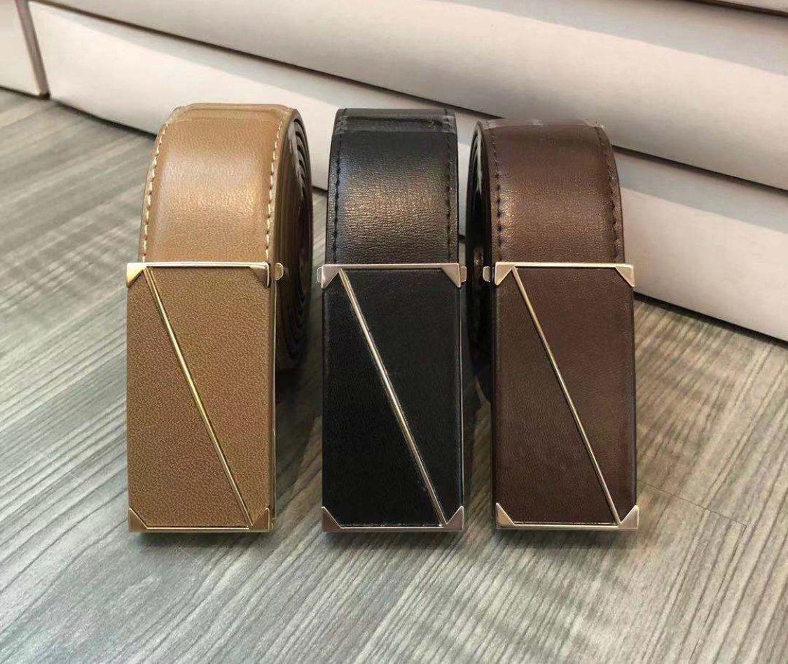 Rectangle Frame Buckle Belt