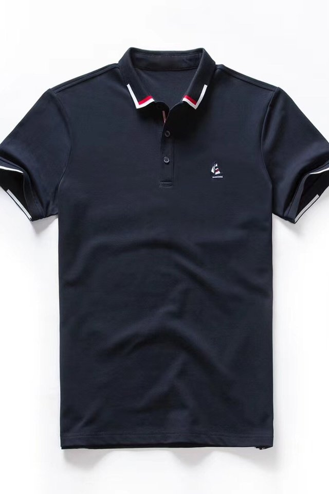 Yacht Polo Tee in Navy