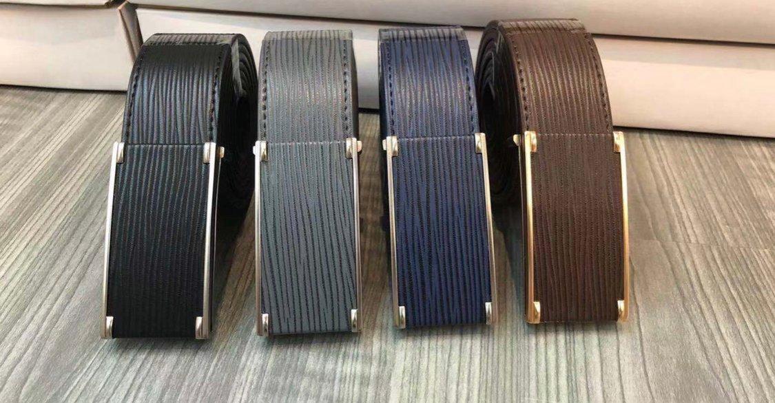 Horizontal Striped Belt Buckle