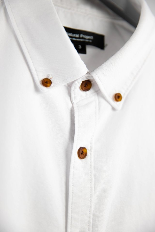 Oxford White Shirt in Half Sleeves