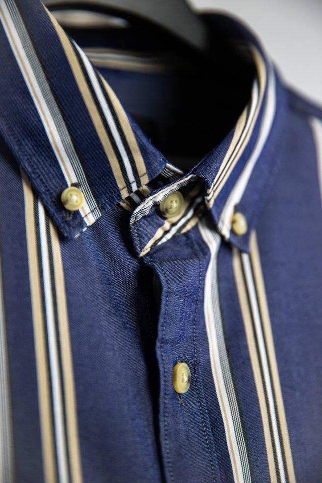 Multi Striped Shirt in Blue
