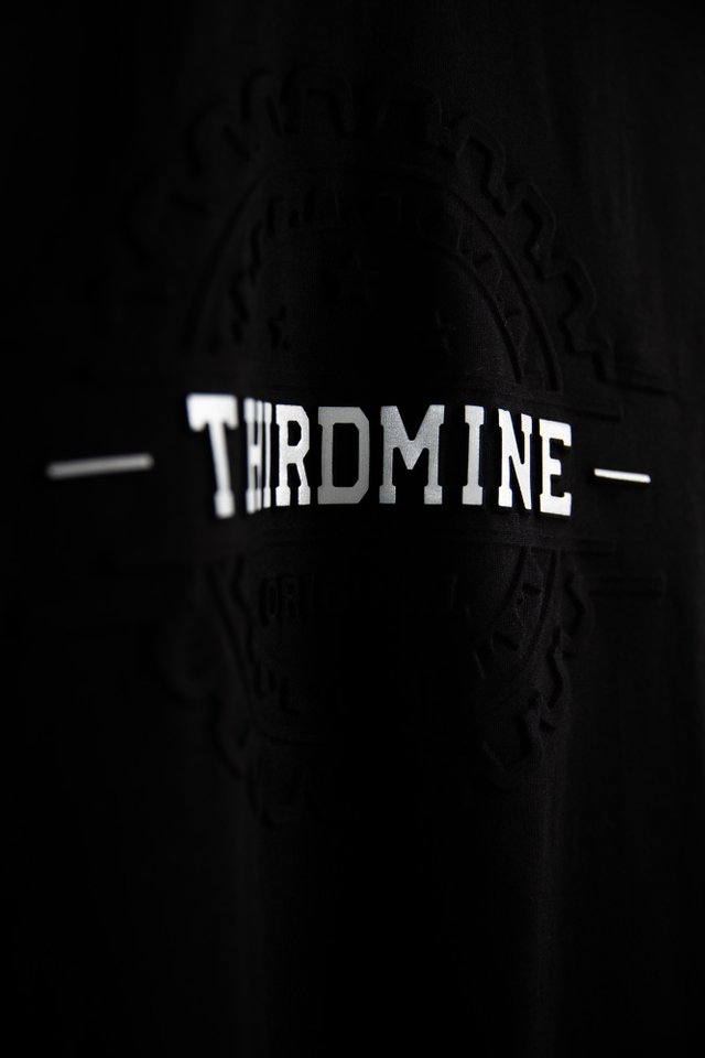 Third Mine Black Tee Shirt