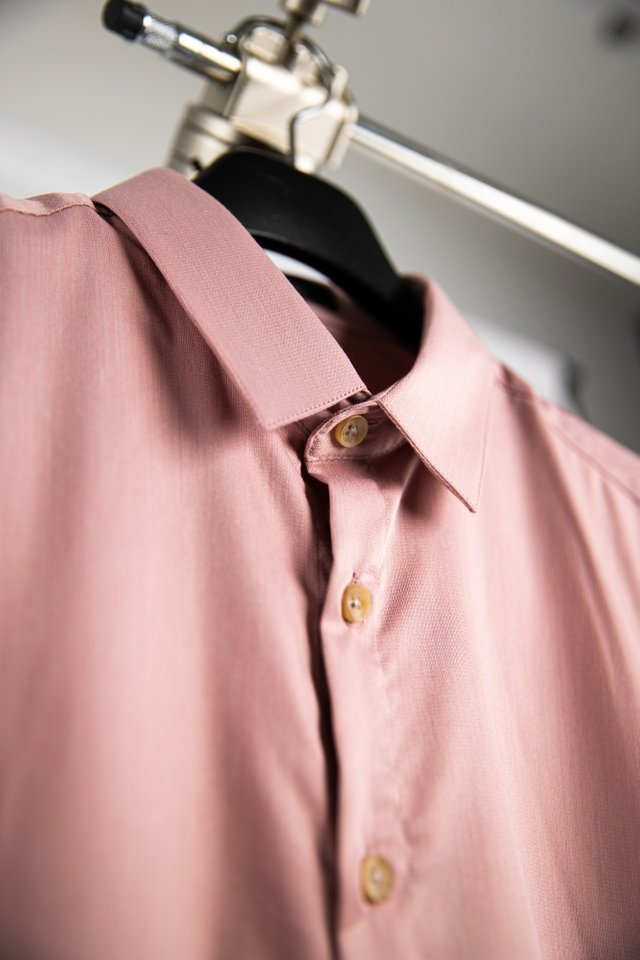 Tranquil Pink Long Sleeve Shirt