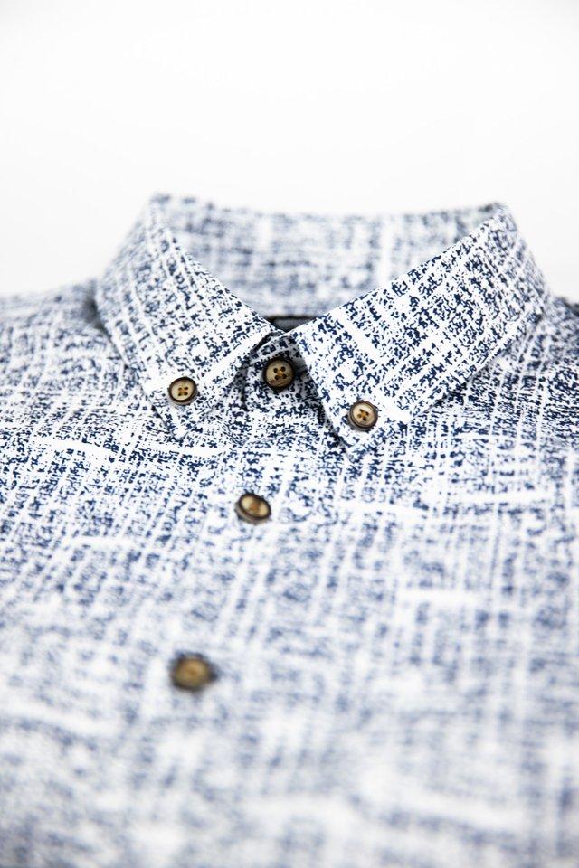 Abstract Prints Half Sleeve Shirt