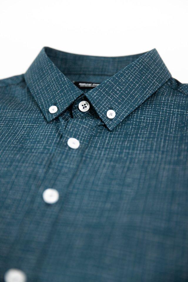 Forest Green Checkered Shirt