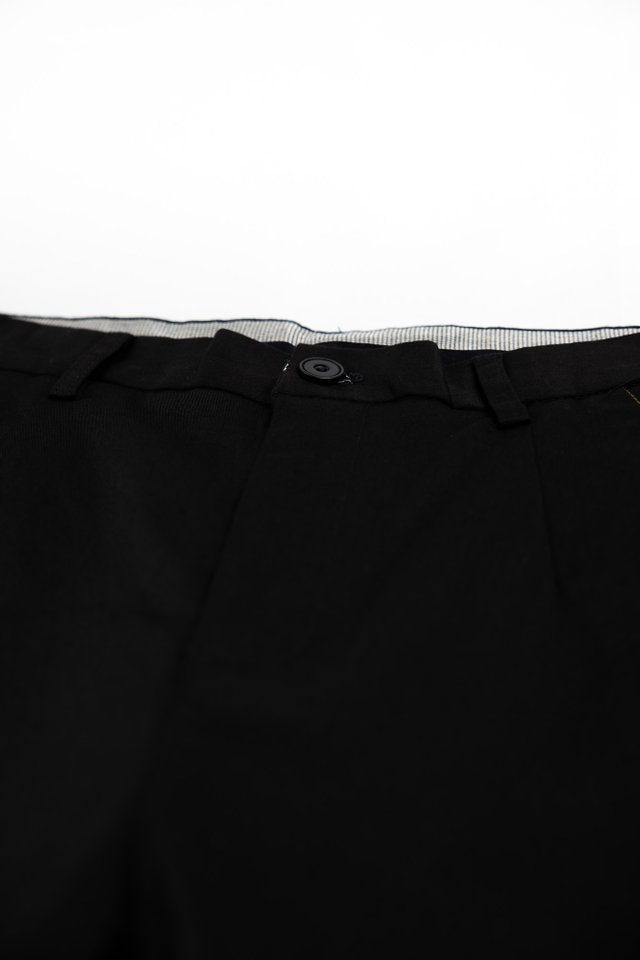 Slim Fit Shorts in Black