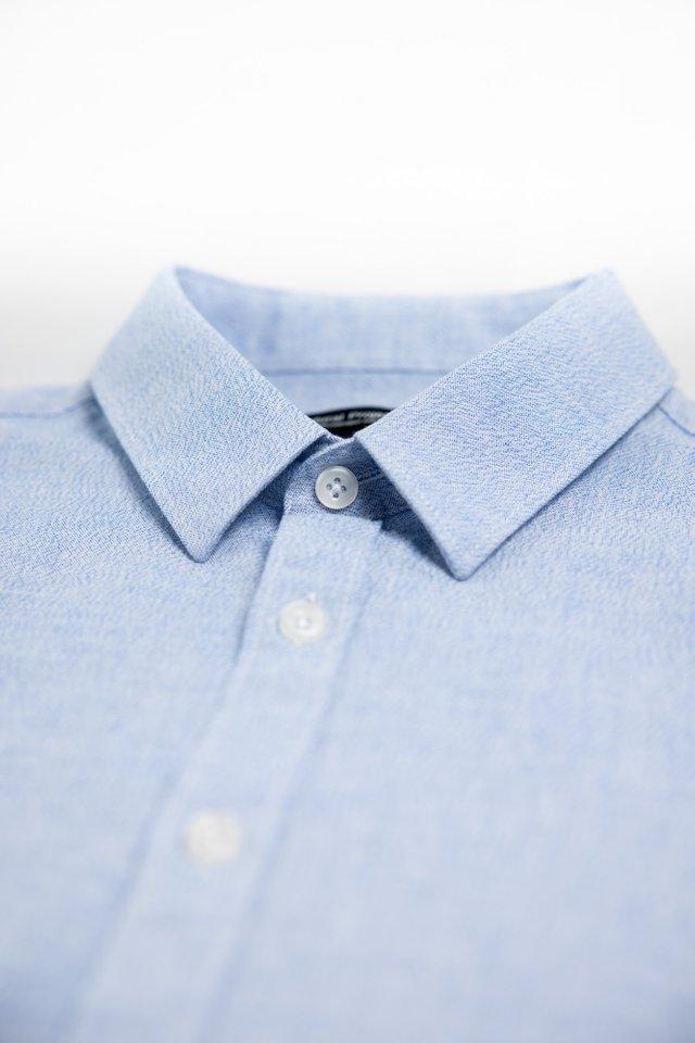 Water Blue Half Sleeve Shirt